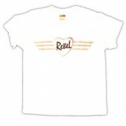 Hannah McNeil Youth White Rebel Tee